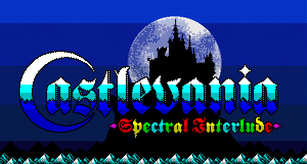 Castlevania: Spectral Interlude for ZX Spectrum — Dracula's Castle